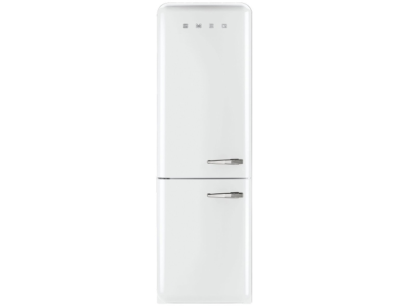Smeg FAB32LWHNA1 326L Retro Style Bottom Mount Fridge