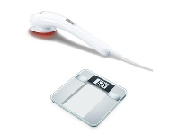 Appliances Online Beurer BG13 Digital Scale with MG21 Infrared Massager FITZONEPK1