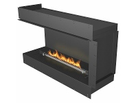 Planika 99cm Fire Line Automatic 3 Plus with 120cm Forma Casing FLA3P9901200FORMA