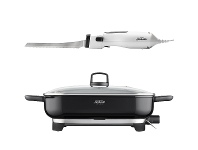 Appliances Online Sunbeam Carveasy Electric Knife and DimpleTech Frypan FP6910EK4000
