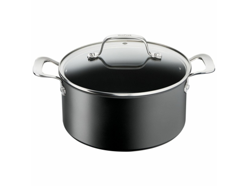 Tefal 5.2L Unlimited Premium Non-Stick Induction Stewpot with Lid G2564616