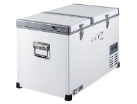 Appliances Online EvaKool 74L Glacier Dual Zone Portable Fridge G75-DX-DL