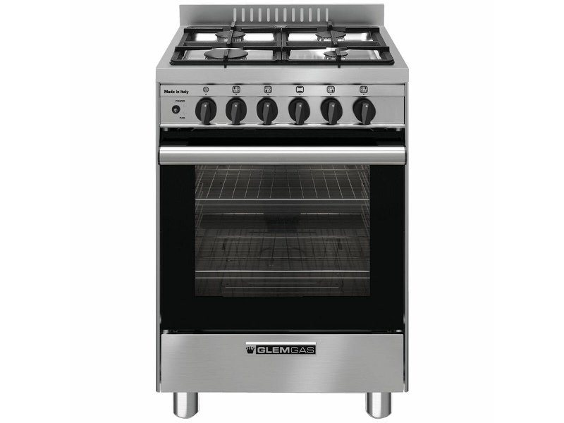 Glem 53cm Freestanding Natural Gas Oven/Stove GB534GG
