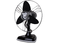 Appliances Online Goldair Electric 30cm Retro Desk Fan GCRDF310