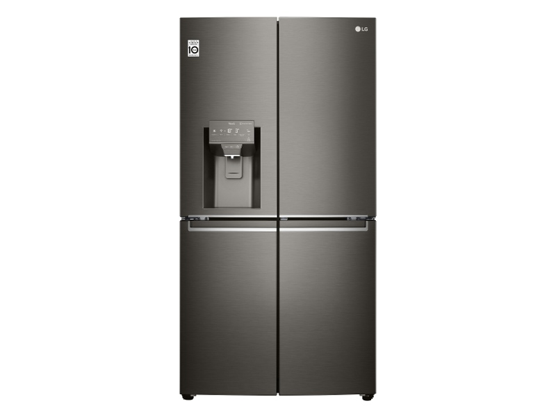 LG 706L French Door Fridge with Ice Maker & Water Dispenser GF-D706BSL