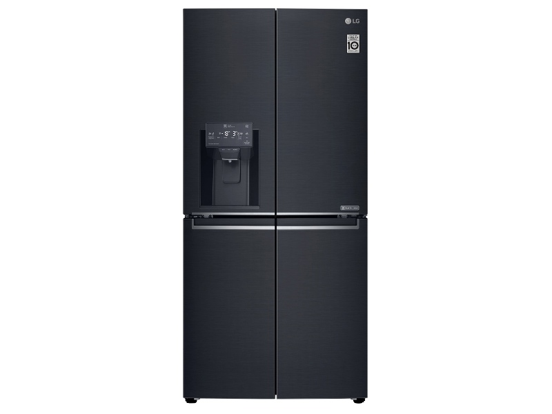 LG 570L French Door Fridge with Ice & Water Dispenser GF-L570MBL