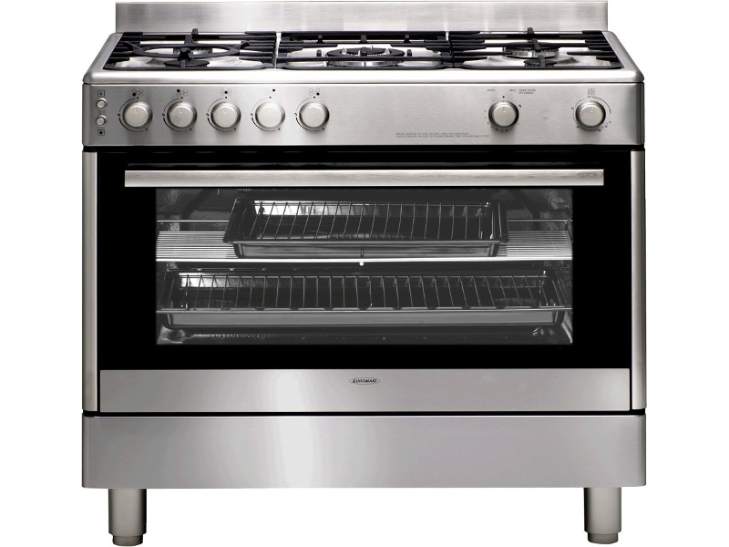 Euromaid GG90S 90cm Freestanding Natural Gas Oven/Stove