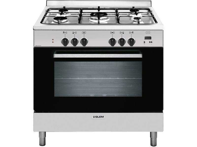 Glem GL965EI 90cm Freestanding Dual Fuel Oven/Stove