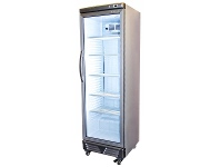 Appliances Online Bromic GM0374 372L LED Eco Flat Glass Door Upright Display Chiller