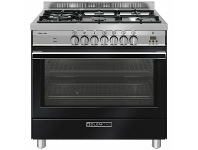 Appliances Online Glem 90cm Dual Fuel Oven/Stove Black GS965GEN