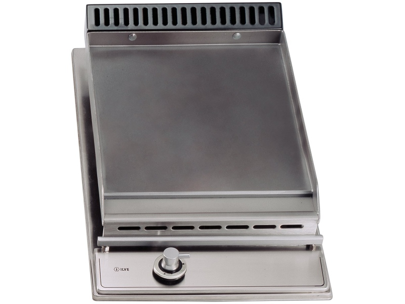 ILVE H30PFVX 30cm Natural Gas Fish Cooktop with Tepanyaki Plate