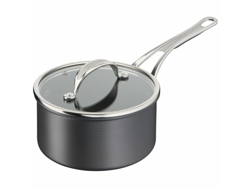 Tefal 2.2L Jamie Oliver Cook's Classics 18cm Induction Non-Stick Hard Anodised Saucepan H9122344