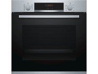 Appliances Online Bosch HBA574BS0A 60cm Serie 4 Pyrolytic Built-In Oven