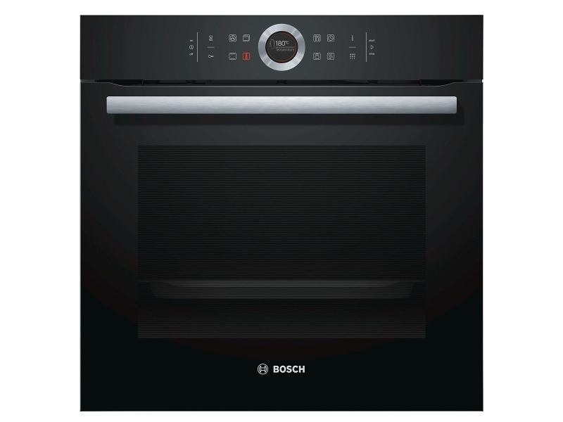 Bosch HBG6753B1A 60cm Serie 8 Built-in Pyrolytic Electric Oven