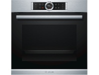 Appliances Online Bosch HBG6753S1A 60cm Serie 8 Pyrolytic Electric Built-In Oven