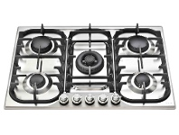 Appliances Online ILVE HCB70CSS 70cm H-Series Natural Gas Cooktop