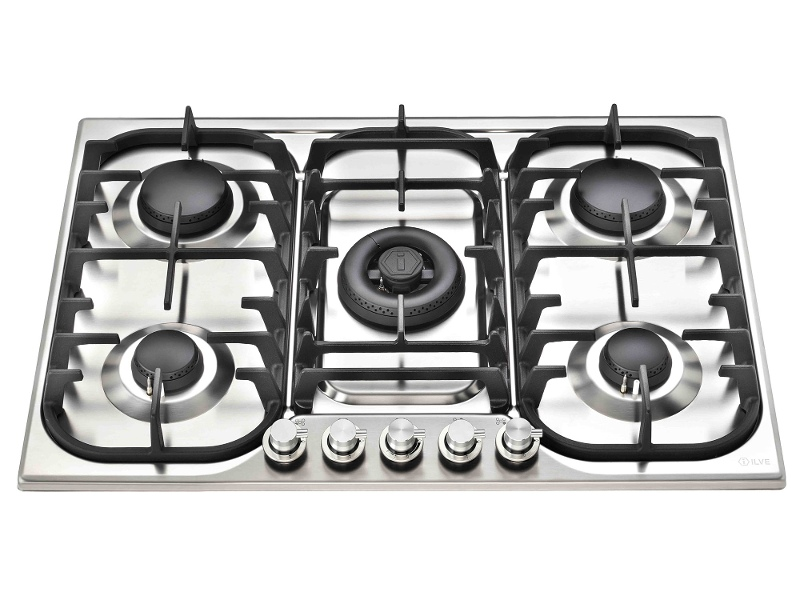 ILVE HCB70CSS 70cm H-Series Natural Gas Cooktop