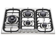 Appliances Online ILVE HCB70SDSS 70cm H-Series Natural Gas Cooktop