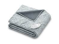 Appliances Online Beurer CosyNordic Heated Overblanket Charcoal HD75G-NORDIC