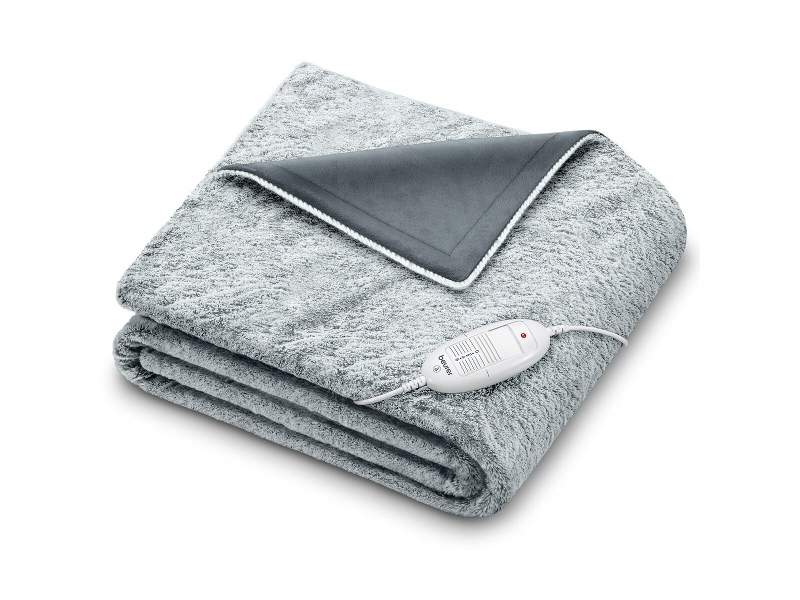 Beurer CosyNordic Heated Overblanket Charcoal HD75G-NORDIC