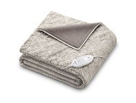 Appliances Online Beurer CosyNordic Heated Overblanket Toffee HD75T-NORDIC