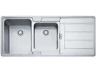Appliances Online Franke HDX624RHD Hydros Double Bowl Right Hand Drainer Sink