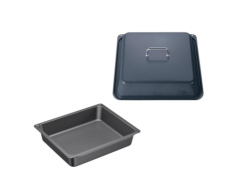 Bosch HEZ633073HEZ633001 Anthracite Professional Casserole Pan and lid Pack