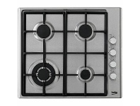 Appliances Online Beko 60cm Natural Gas Cooktop HIZG64125SX