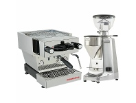 Appliances Online La Marzocco Linea Mini Home Package with Grinder Stainless Steel H-MPACKS