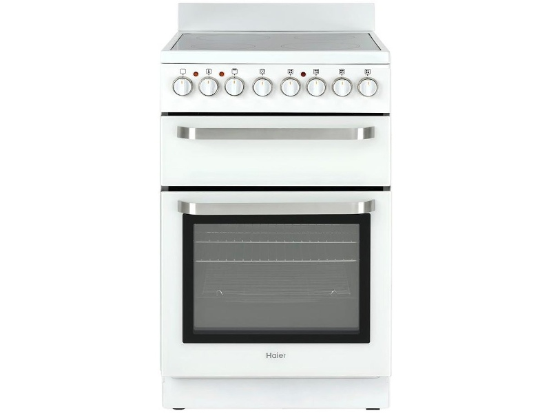 Haier HOR54B7MSW1 54cm Freestanding Electric Oven/Stove