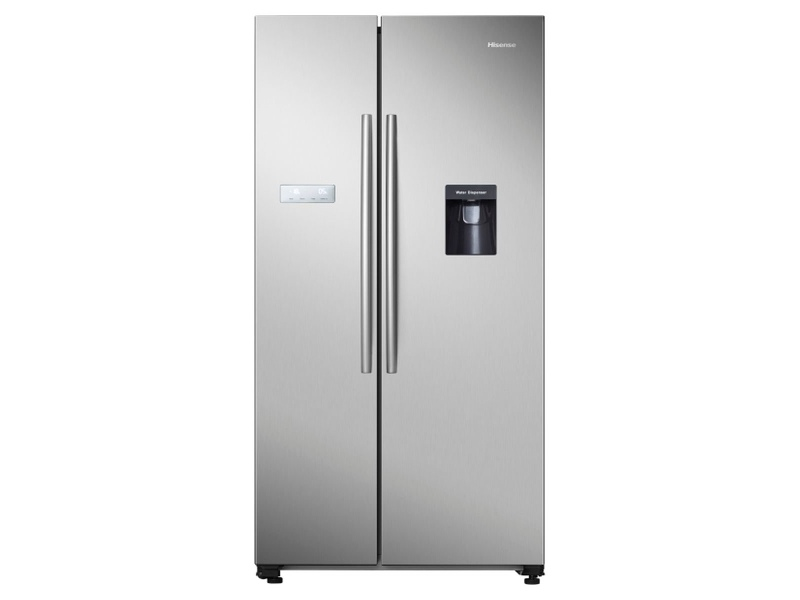 Hisense 624L Side by Side Fridge / Freezer HR6SBSFF624SW