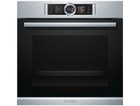 Appliances Online Bosch HRG6767S2A 60cm Serie 8 Pyrolytic Built-In Oven with Steam