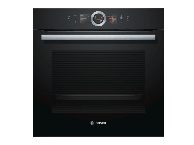 Bosch HRG6769B2A 60cm Serie 8 Pyrolytic Electric Built-In Oven with Added Steam