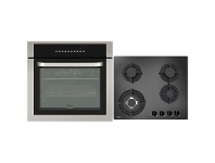 Appliances Online Haier 60cm Electric Oven & 60cm Gas Cooktop Pack HWO60S10TX1HCG604WFC