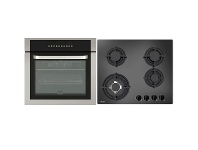 Appliances Online Haier 60cm Pyrolytic Oven & 60cm Gas Cooktop Pack HWO60S11TPX1HCG604WF