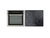 Appliances Online Haier 60cm Pyrolytic Oven & 60cm Induction Cooktop Pack HWO60S11TPX1HCI604TB