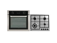 Appliances Online Haier 60cm Electric Oven & 60cm Gas Cooktop Pack HWO60S7EX1HCG604WFCX