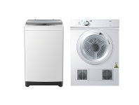 Appliances Online Haier 7kg/4kg Laundry Package HWT70AW1HDV40A1