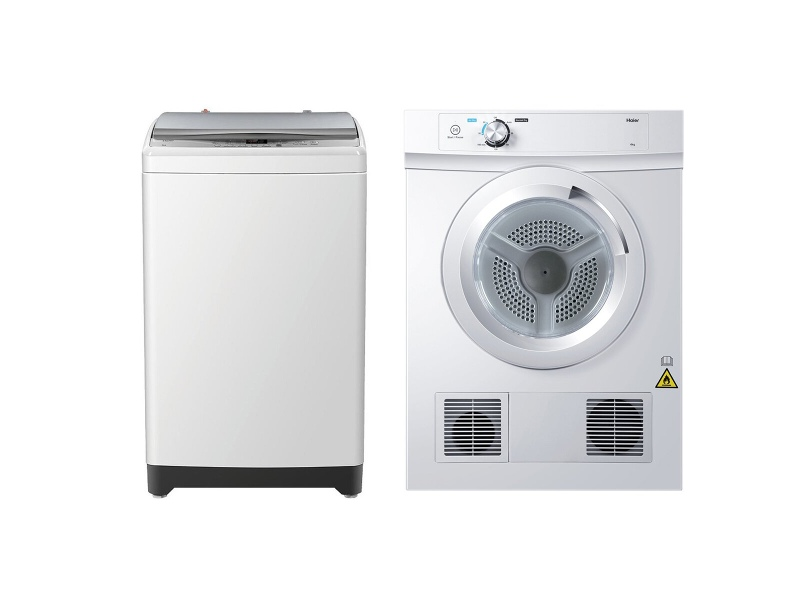 Haier 7kg/4kg Laundry Package HWT70AW1HDV40A1