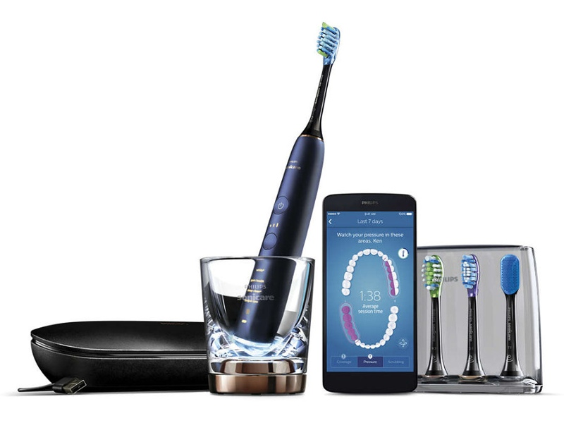 Philips HX9954-56 Sonicare DiamondClean Smart Sonic Electric Toothbrush with App