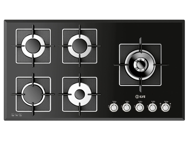 ILVE ILBV905 90cm Natural Gas Cooktop