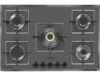 Appliances Online ILVE 77cm Grigio Lusso Natural Gas Cooktop ILGV775