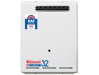 Appliances Online Rinnai N/G 32 Ltr Continuous Flow 50°C Hot Water System INF32N50M