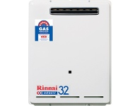 Appliances Online Rinnai N/G 32 Ltr Continuous Flow 60°C Hot Water System INF32N60M