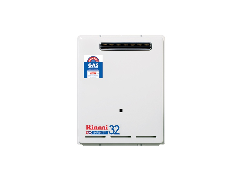Rinnai N/G 32 Ltr Continuous Flow 60°C Hot Water System INF32N60M