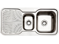 Appliances Online Arc IS9RS3 1 and 1/4 Bowl Left Hand Drainer Sink