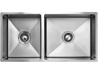 Appliances Online Arc ISKU9S1 Deluxe 1 and 3/4 Bowl Undermount Sink
