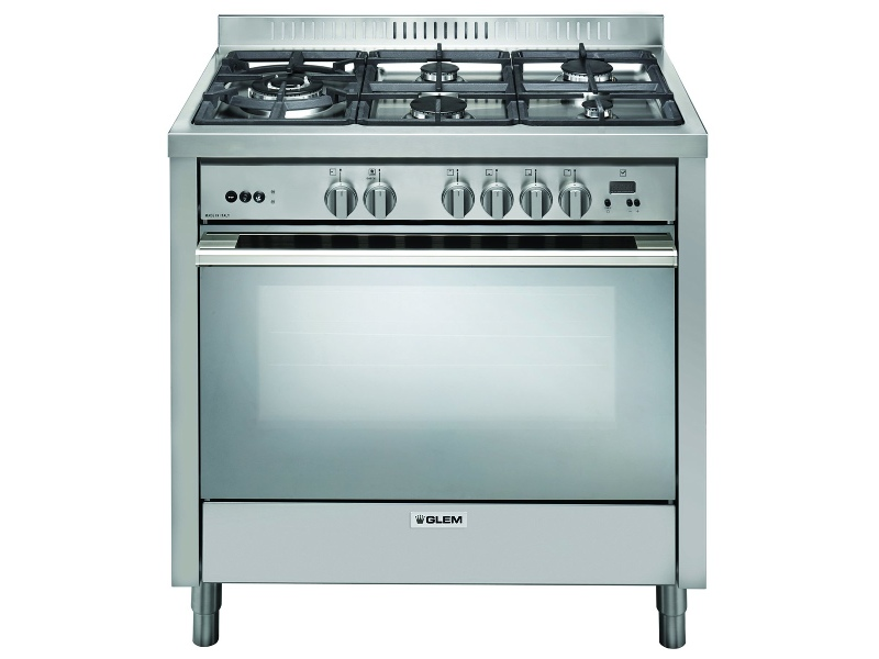 Glem IT965MVI2 90cm Freestanding Gas Oven/Stove