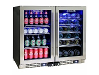 Appliances Online Schmick Under Bench Dual Zone Beer & Wine Bar Fridge JC95-COMBO
