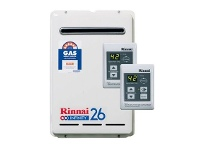 Appliances Online Rinnai N/G 26 Ltr Continuous Flow 60°C Hot Water System & Controllers K26N60M